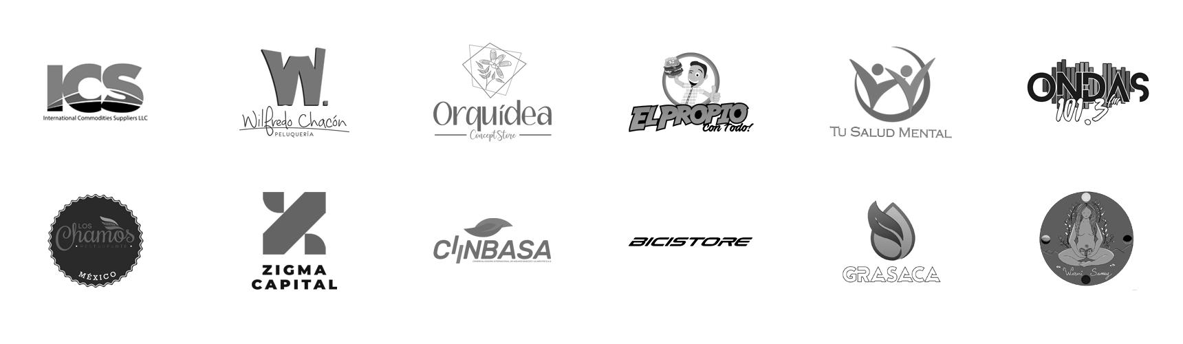 International Commodities Suppliers LLC, Wilfredo Chacón Peluquerías, Orquídea Concept Store, El Propio Restaurante, Tu Salud Mental, Ondas 101.3FM, Los Chamos Restaurante, Zigma Capital S.A.S., Ciinbasa, Bicistore, Grasas San Carlos C.A. Grasaca, Warmi Samay